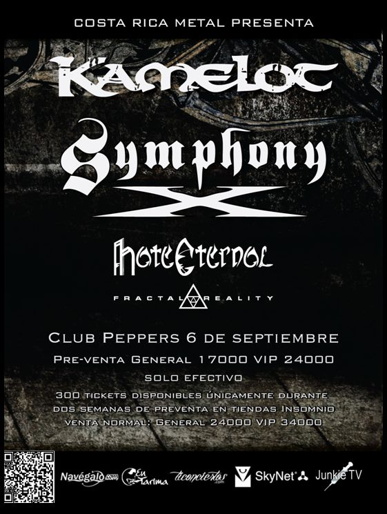 Symphony X - Costa Rica - Sept 2012