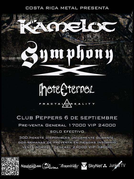 Symphony X - Costa Rica - Sept 2012