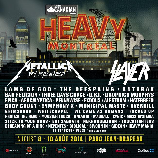 Heavy Montreal 2014