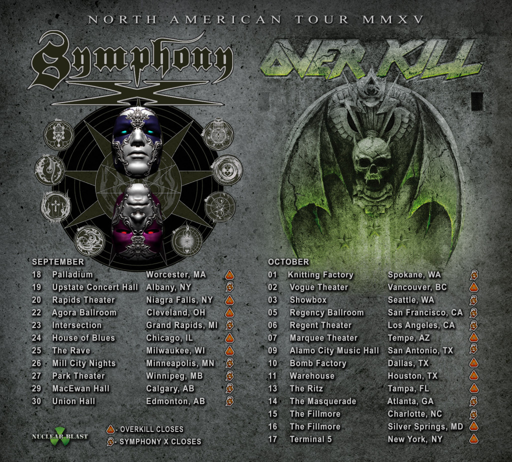 SYMPHONY X OVERKILL ADMAT AS OF Aug 7
